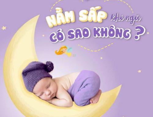 Ngủ ngon – con khoẻ, mẹ vui: Con nằm sấp khi ngủ có sao không?